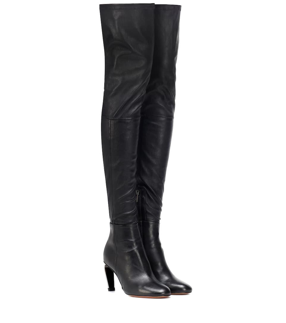 Overknee Stiefel Melise aus Leder