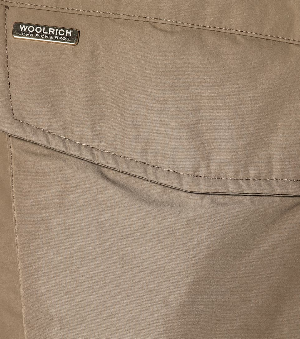 Woolrich Donna Parka Alpha Con Pelliccia W's Taupe Military qTvwdqr