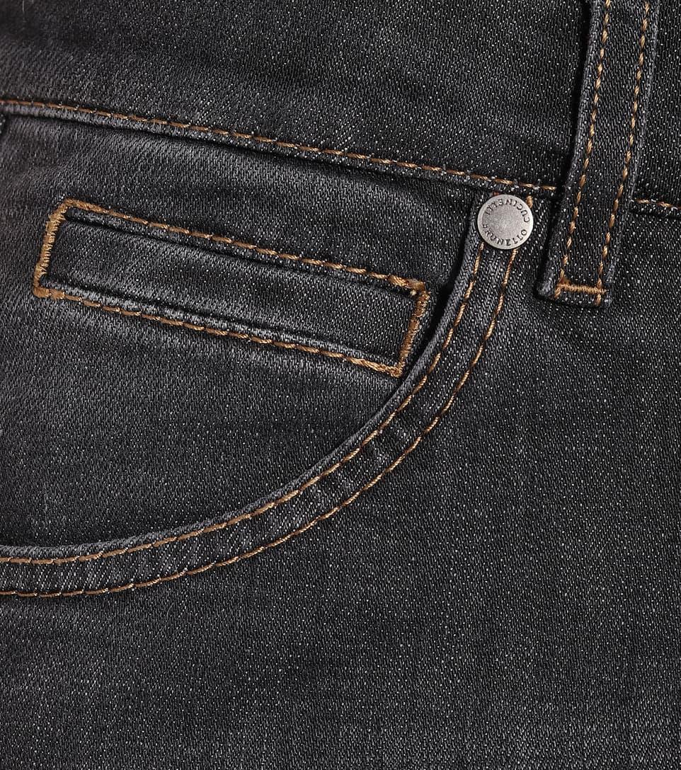 Brunello Cucinelli - Low-rise skinny jeans