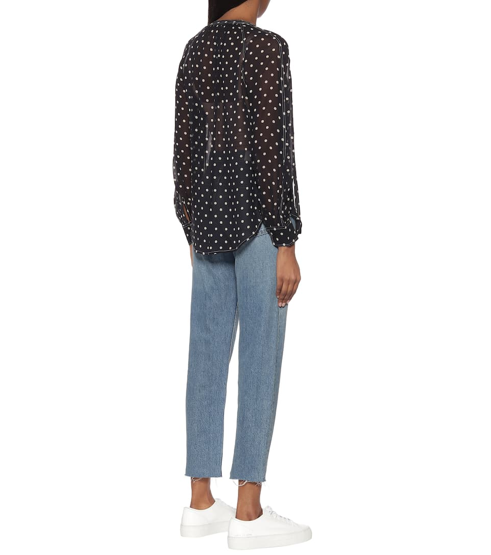 Polo Ralph Lauren - Polka-dot blouse