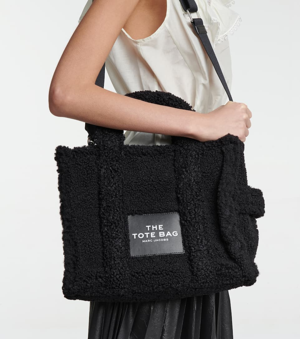 The Teddy Small faux shearling tote