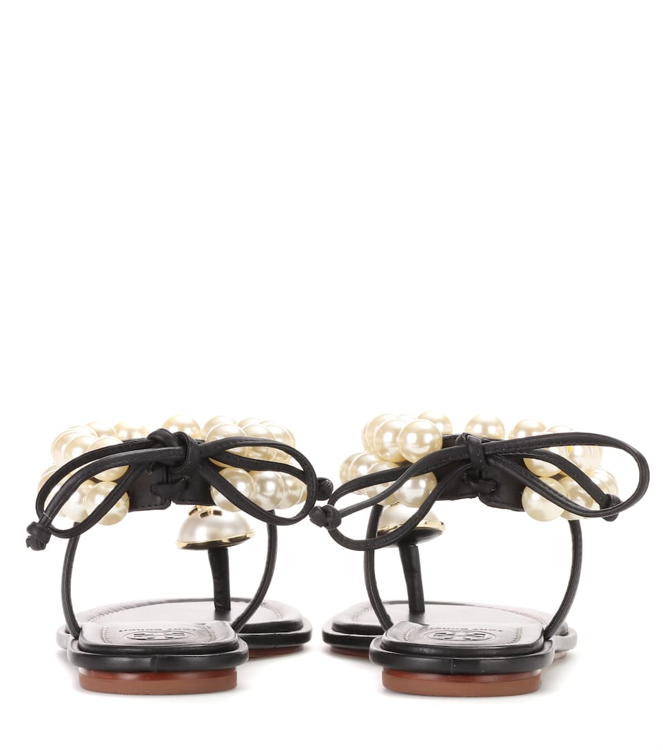 3a1639b69a1 Tory Burch - Melody embellished leather sandals