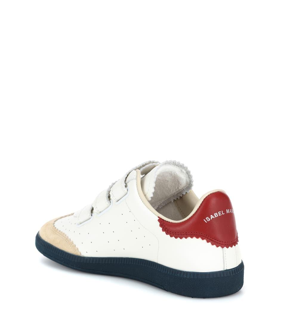 Isabel Marant Sneakers Beth aus Leder