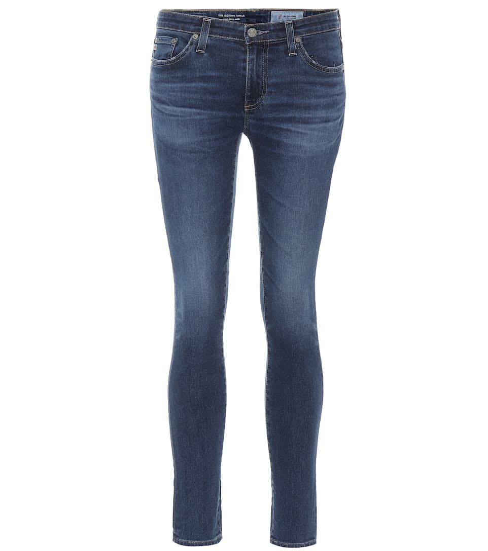AG Jeans Jeans The Legging Ankle aus Baumwolle