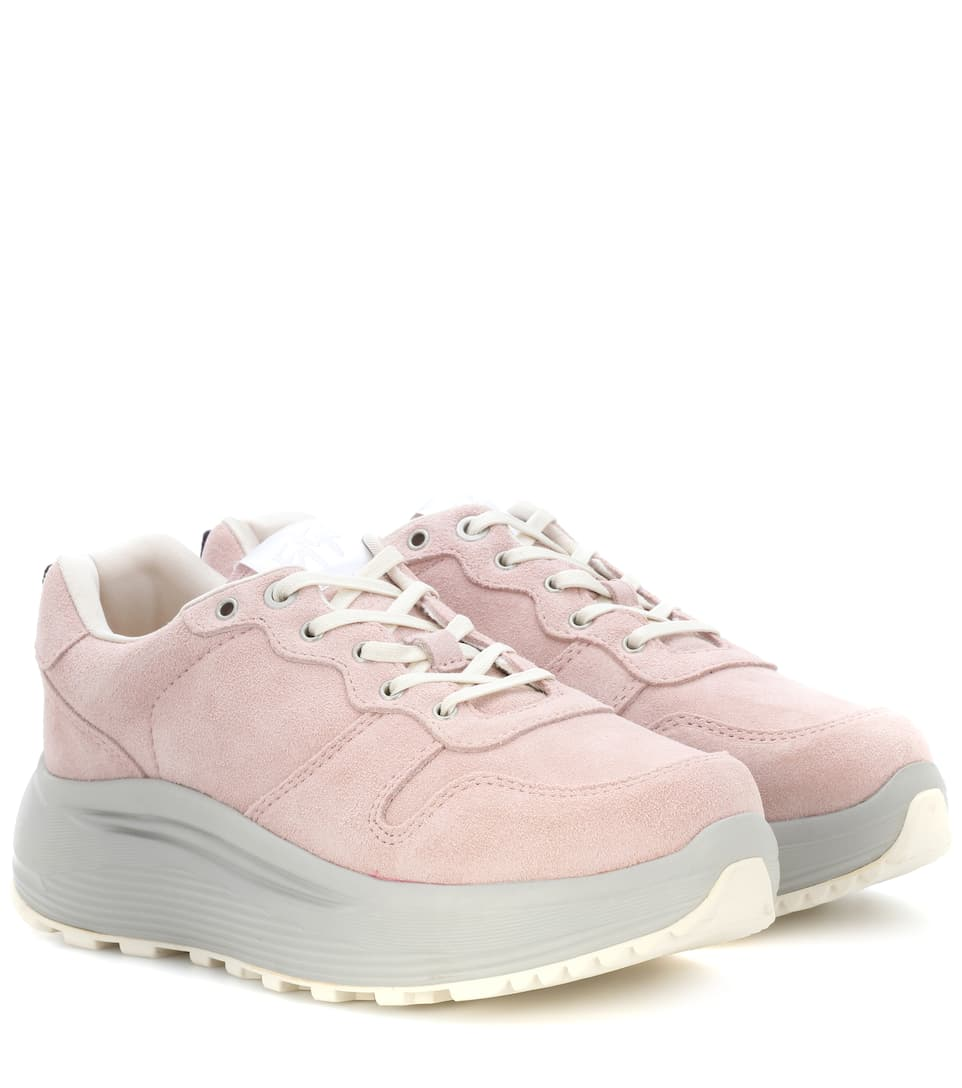 mytheresa Eytys Sneakers Combo In Suede Jet W0wYvqU