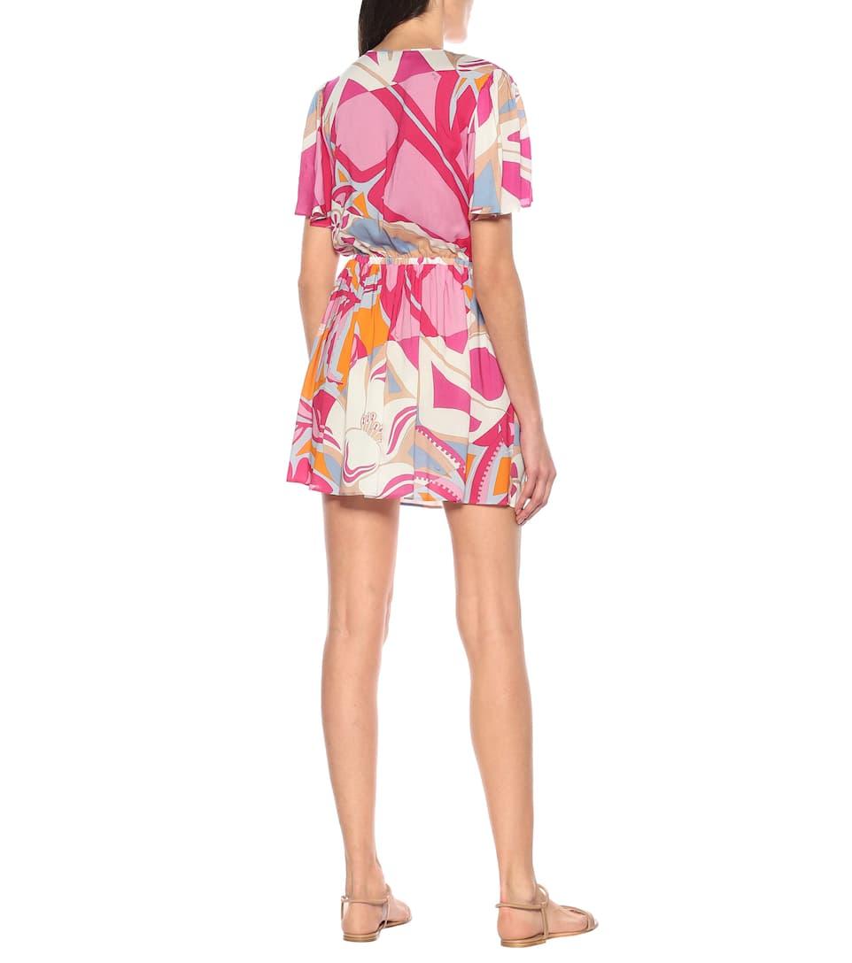 Emilio Pucci Beach - Printed minidress
