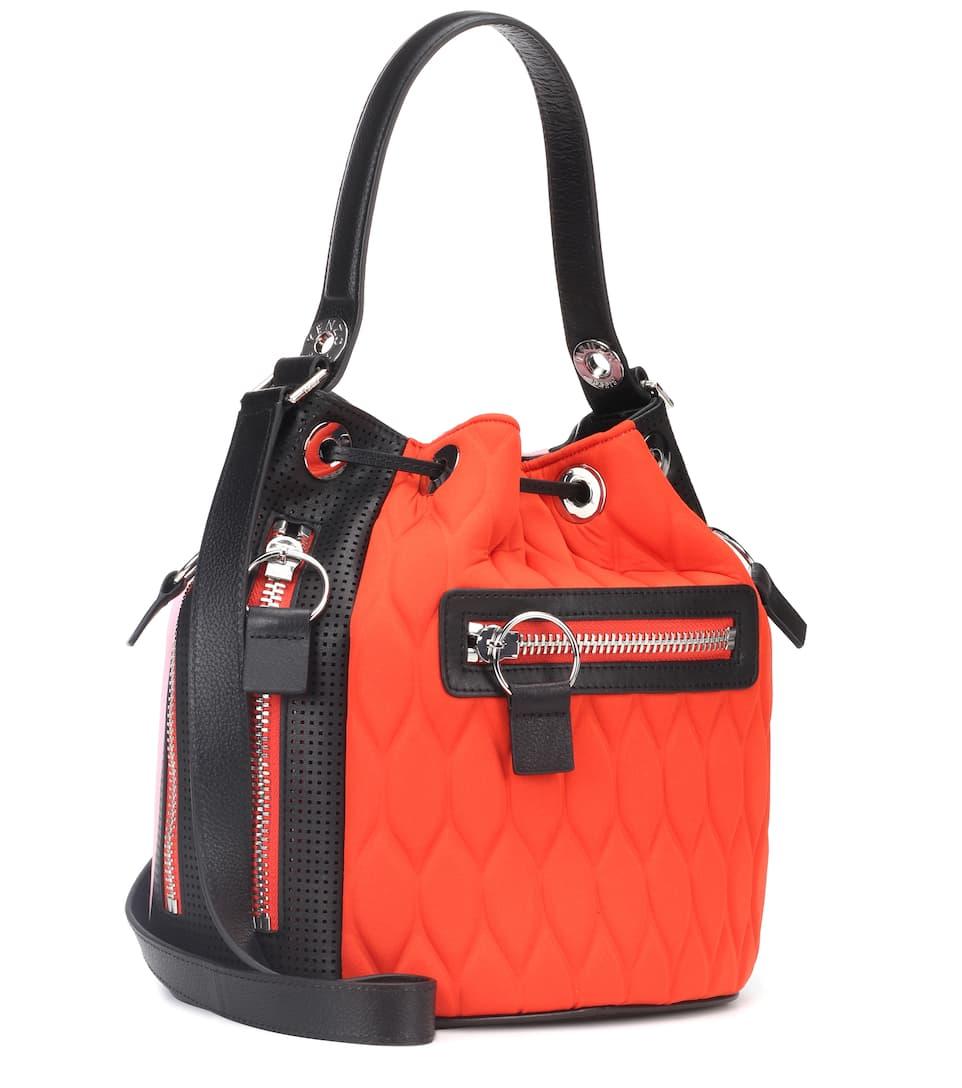 Freies Verschiffen Sast Kenzo Bucket-Bag Kombo mit Leder Billige Bilder ty09IE1hXr