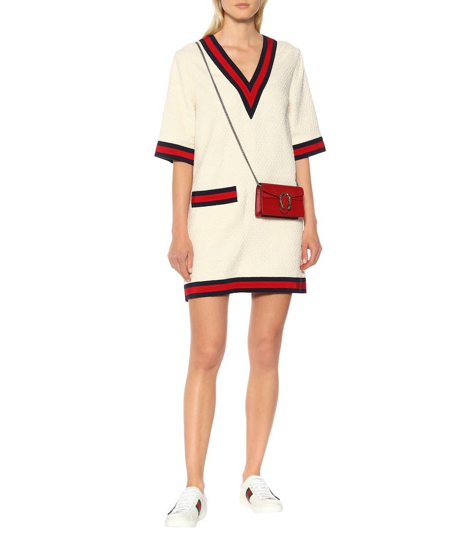 Sehr Billig Günstig Online Gucci Kleid mit Baumwollanteil Spielraum Manchester Billige Fälschung Footaction Günstiger Preis Günstige Top-Qualität j28bz4R5