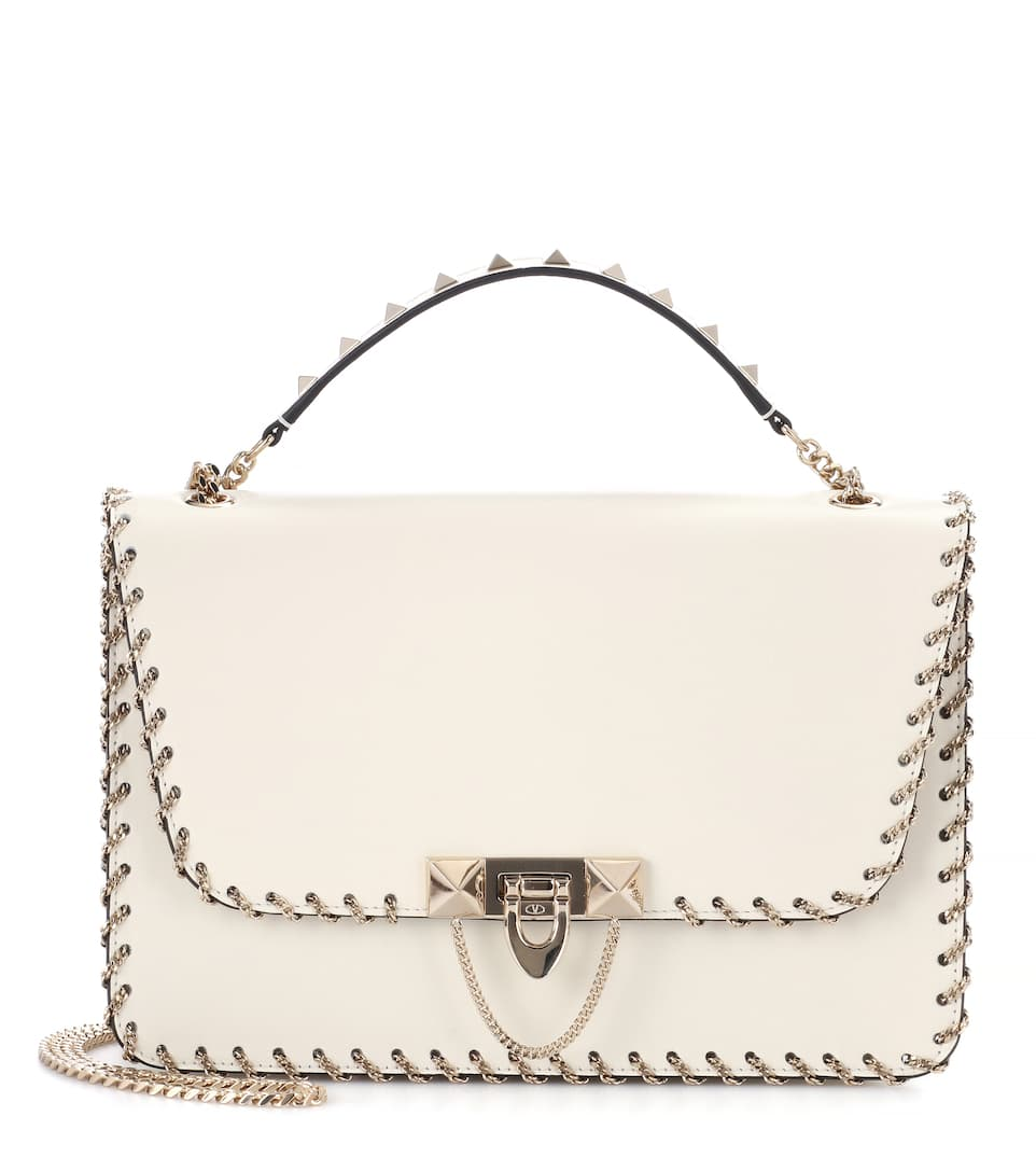 Valentino Valentino Garavani Demilune shoulder bag Free Shipping Fashion Style Wide Range Of For Sale Buy Cheap Authentic Cheap Price Factory Outlet m3XYQib1cR