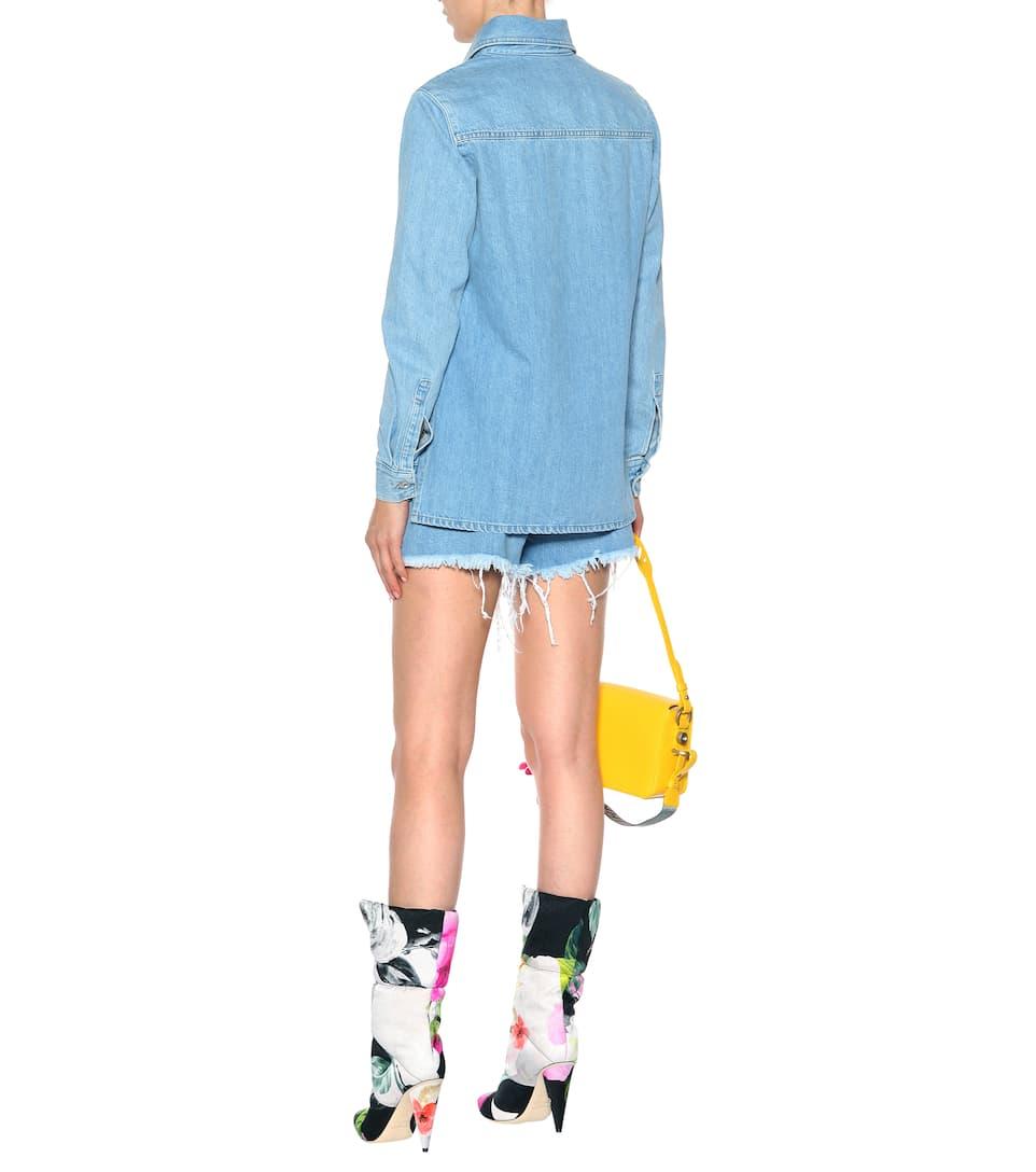 Off-white Oversize-jeansjacke