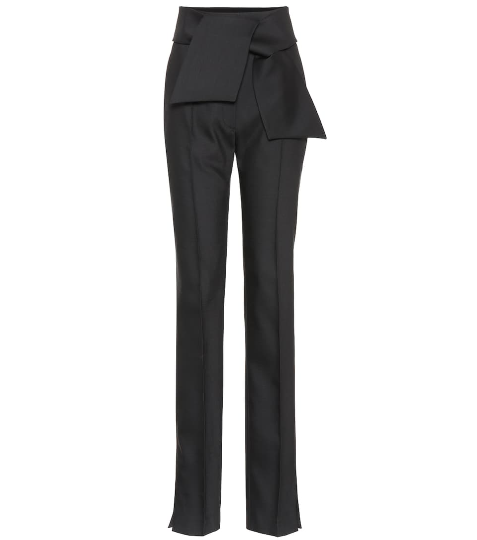 2819bd980079 wool-and-silk-blend-pants by valentino