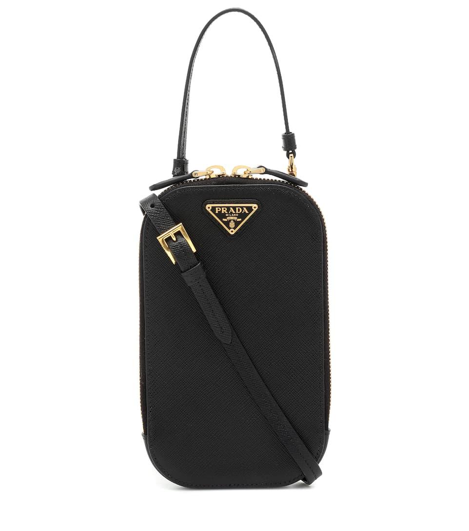 cde3d14c02 Mini Saffiano Leather Crossbody Bag | Prada - Mytheresa