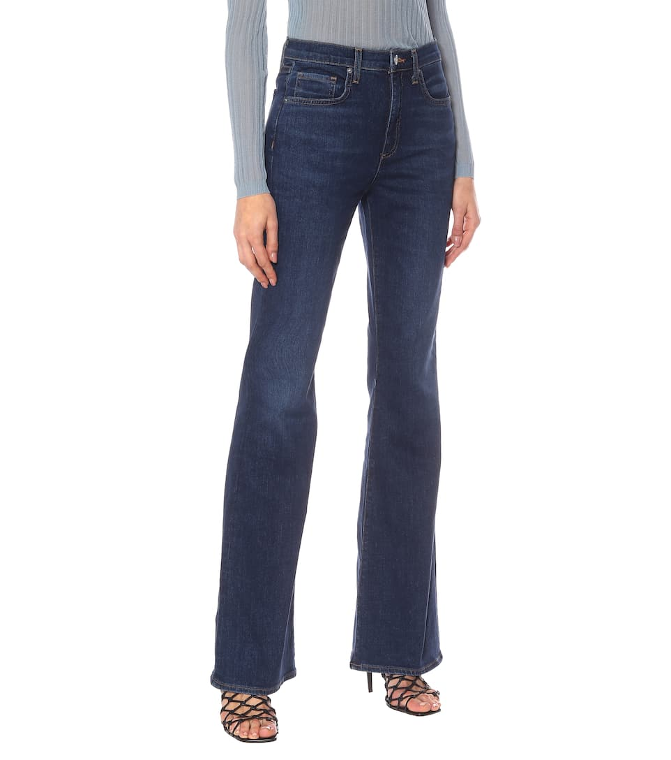 Beverly High-Rise Flared Jeans | Veronica Beard