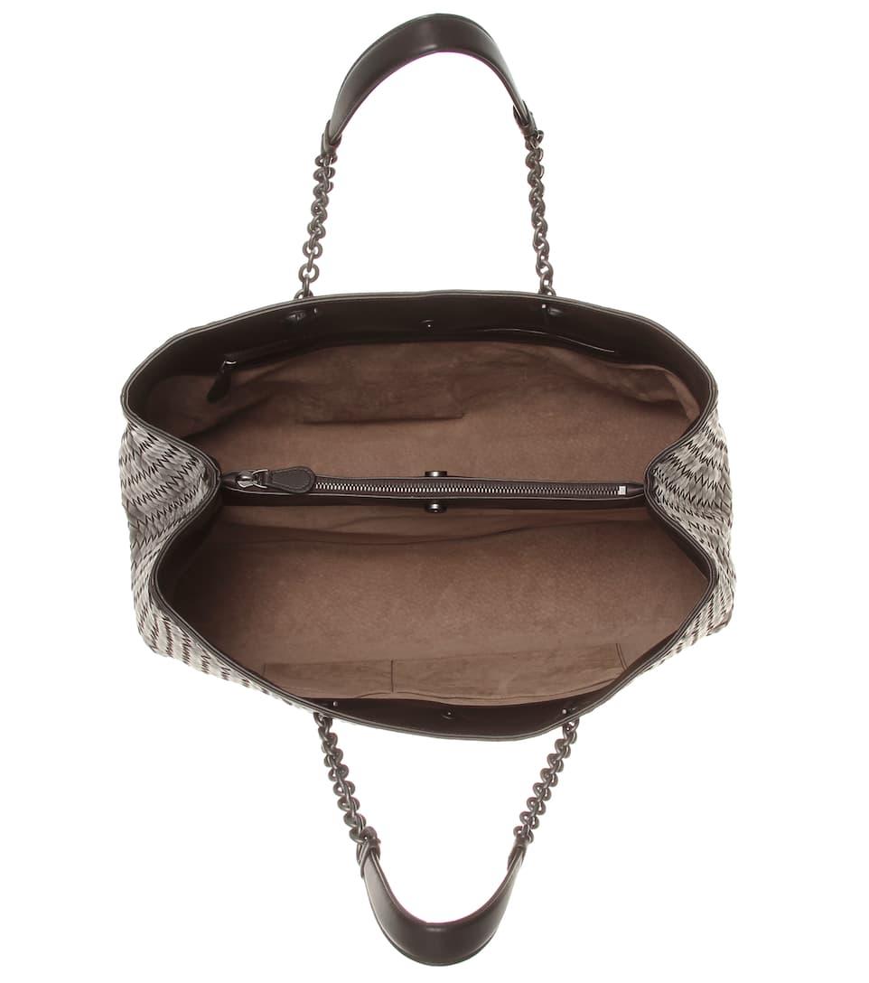 Bottega Veneta Intrecciato-Tasche aus Leder