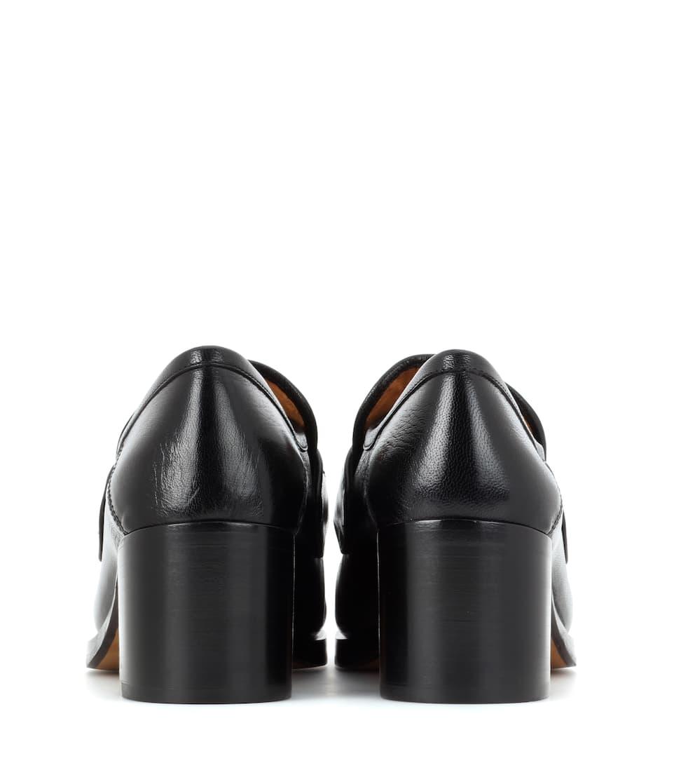 Gucci Loafer-Pumps aus Leder Manchester Großen Verkauf Verkauf Online Spielraum Veröffentlichungstermine Schlussverkauf 3wB8j