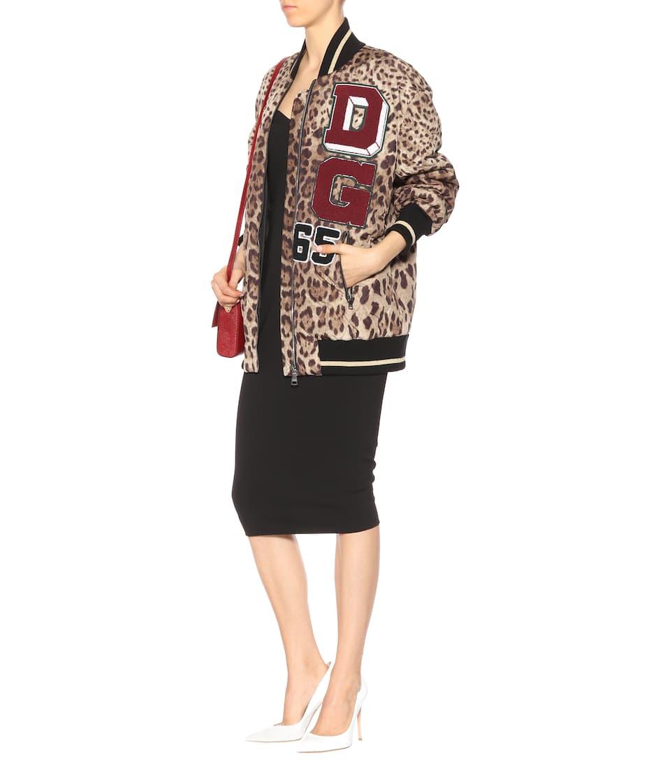 Exklusive Online Niedrigster Preis Verkauf Online Dolce & Gabbana Verzierte Bomberjacke aus Satin Bestellen Günstig Online Mit Paypal Online Besuchen Zu Verkaufen 9Et7e