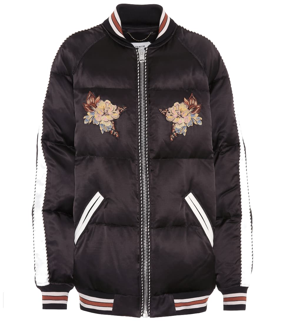Coach Souvenir Quilted Jacket Mytheresa