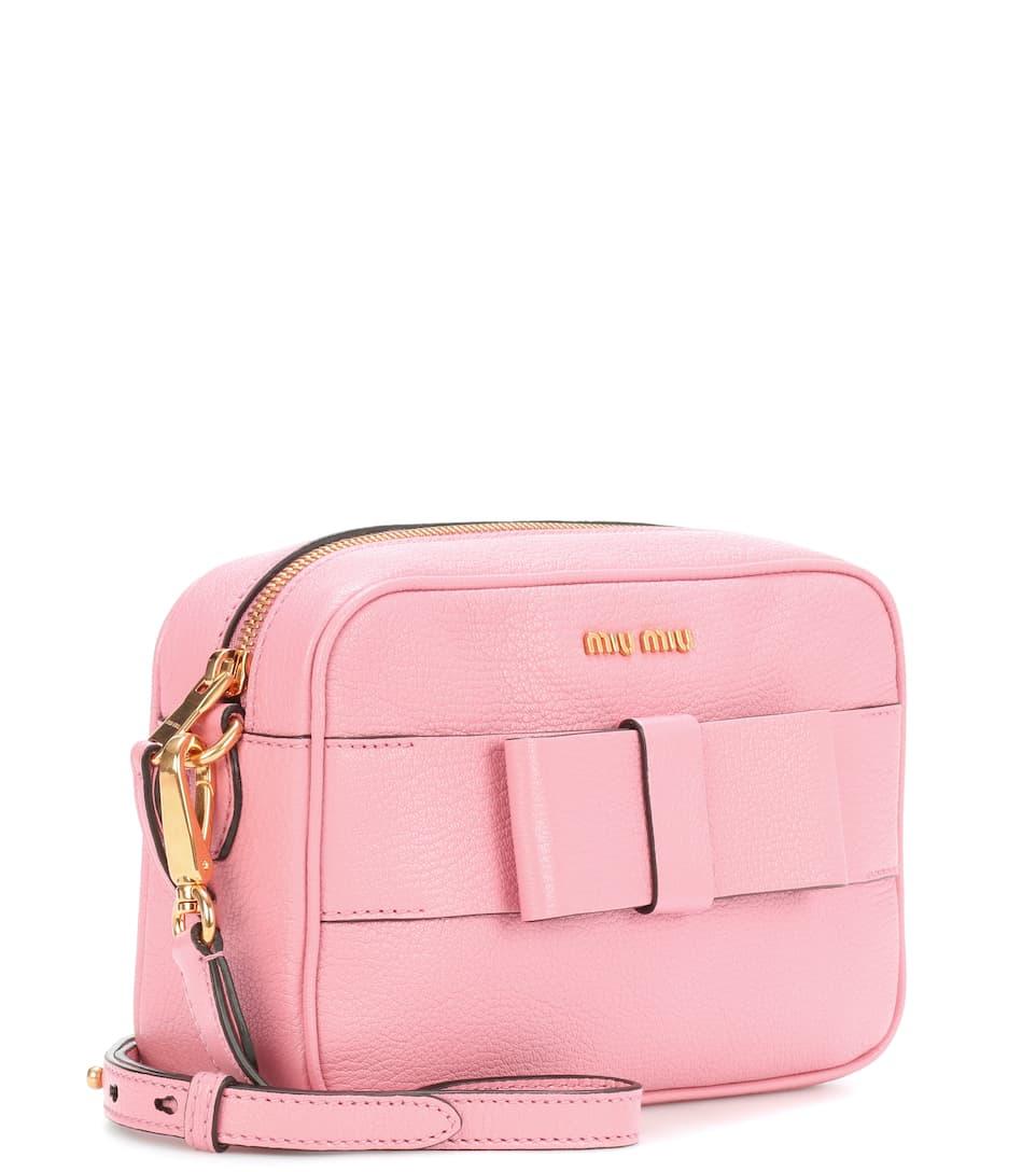 Miu Miu Crossbody-Tasche aus Leder