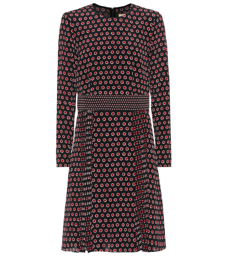 Burberry - Robe en soie imprimée