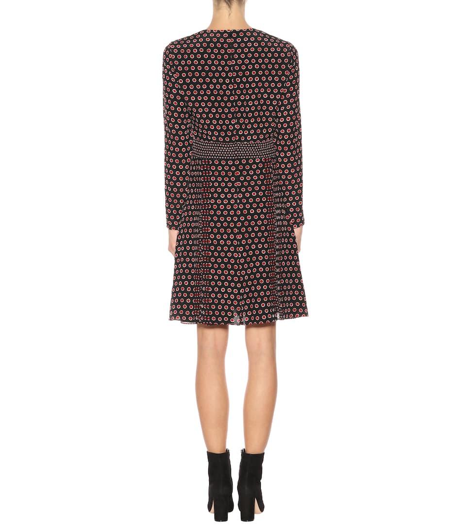 Burberry Kleid aus Seiden-Crêpe mit Polka-Dots