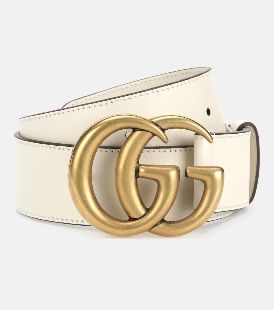 Gucci belt cream