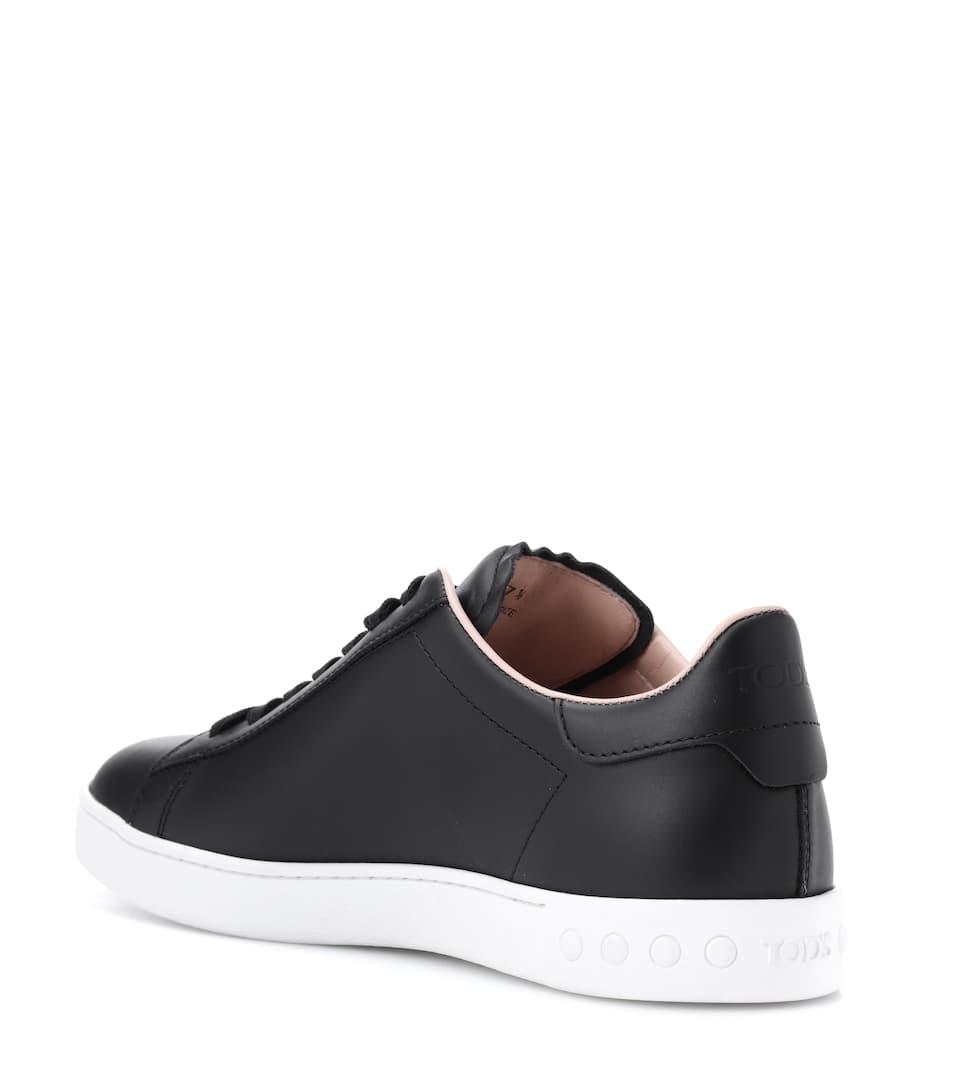 Tod's Sneakers aus Leder Verkauf Finish Webseiten Günstig Online Günstig Kaufen Für Schön Freies Verschiffen Zuverlässig Ost Veröffentlichungstermine RtH5f