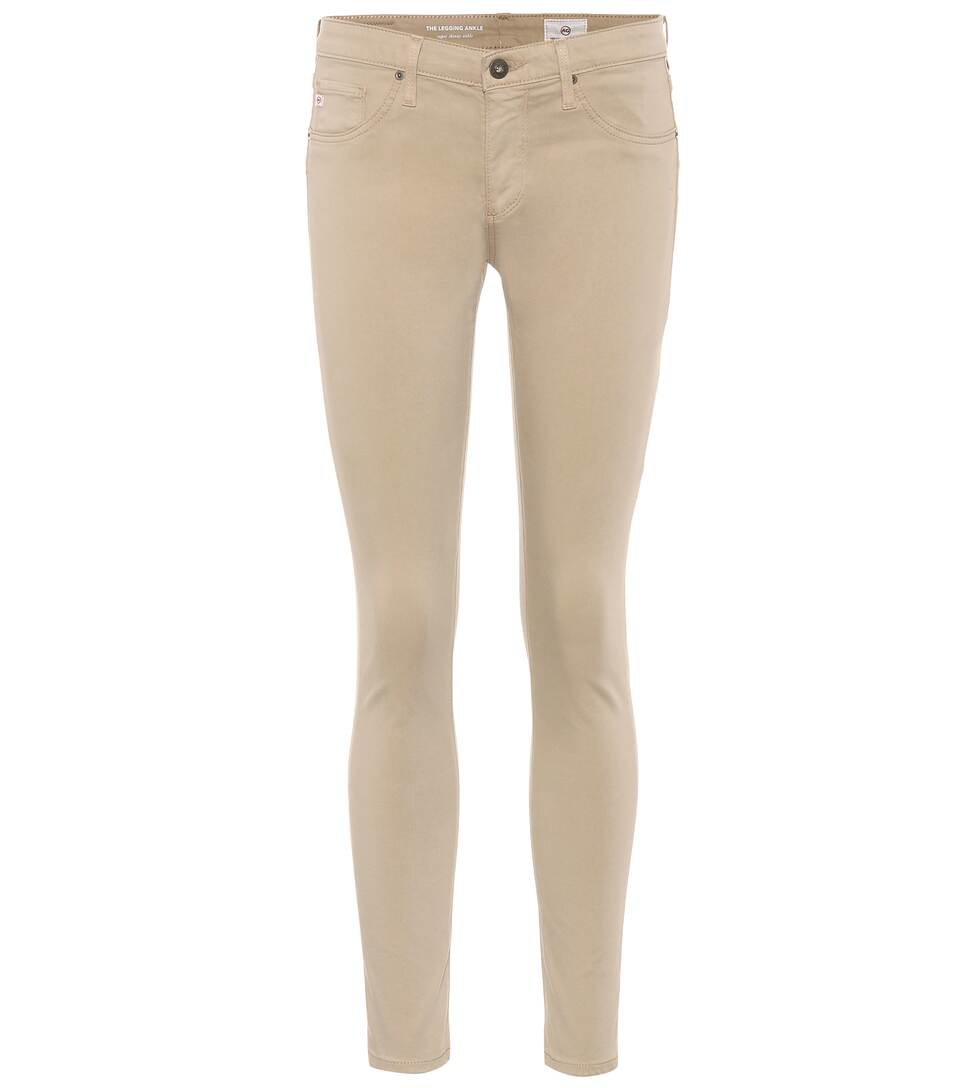 Ag Coated Jeans Trousers Legging Ankle