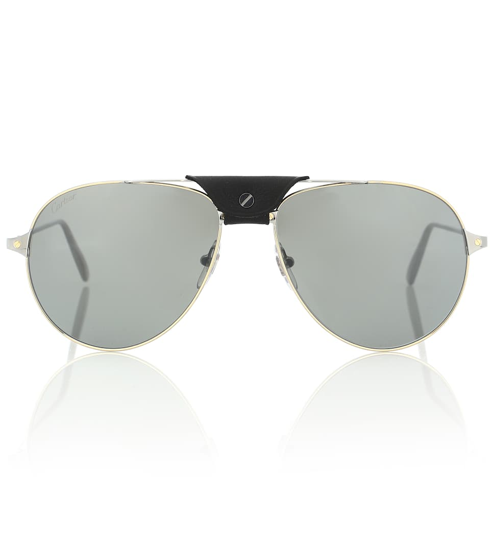 e8022b7abb Santos de Cartier aviator sunglasses. Cartier Eyewear Collection