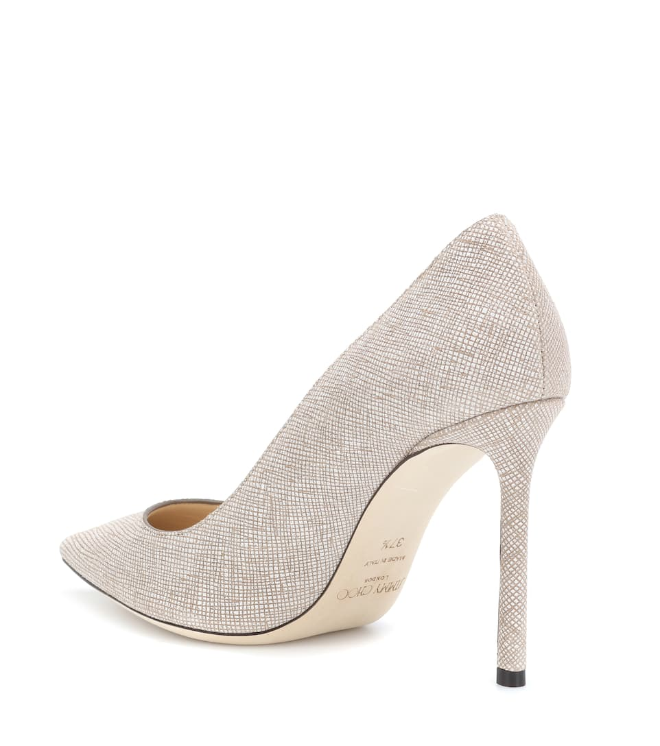 Jimmy Choo Pumps Romy 100 Embossed Leather