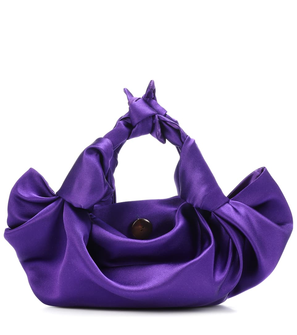 Sac En Satin Ascot Small - The Row