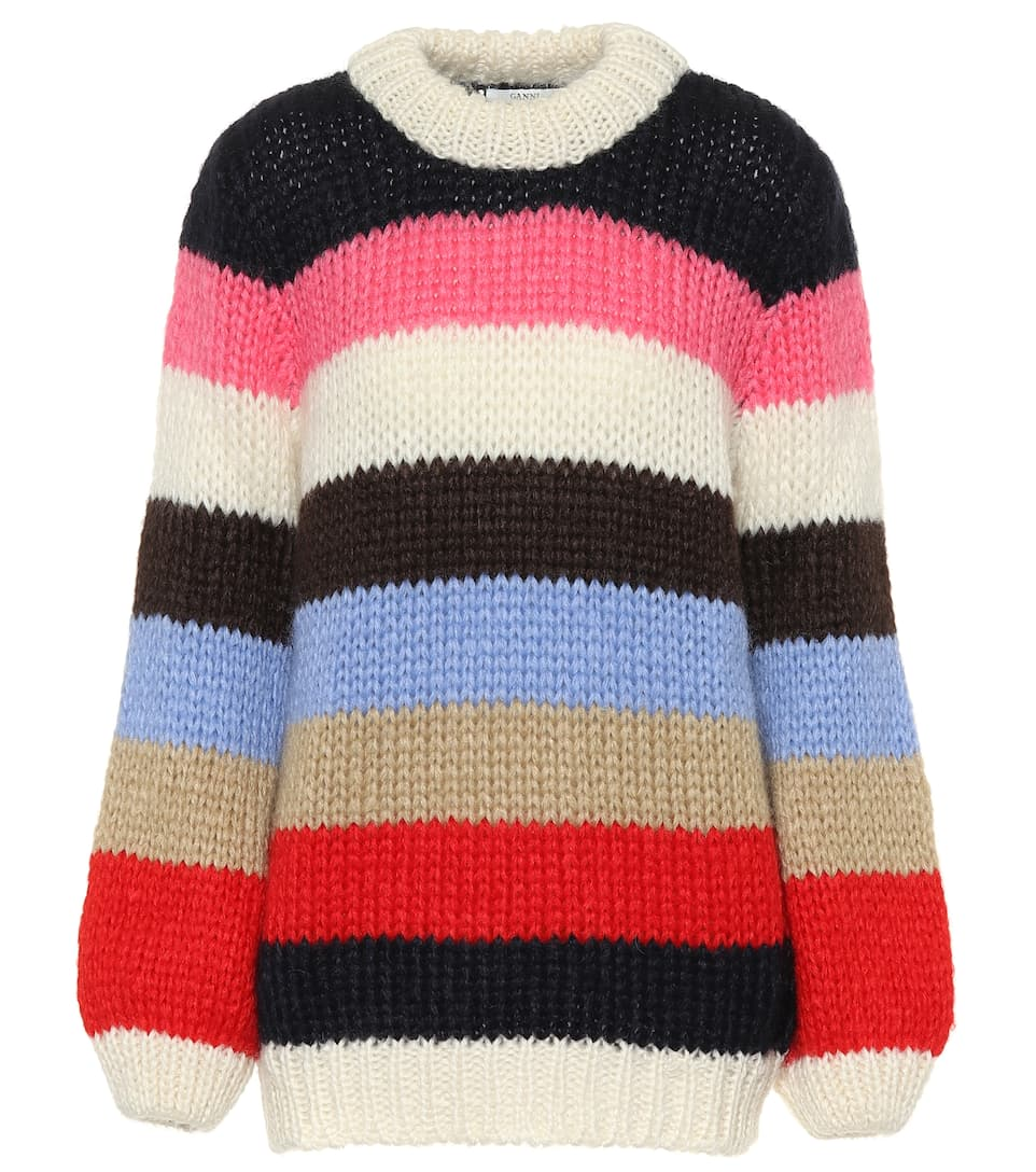 5d70961e The Julliard Mohair-Blend Sweater | Ganni - mytheresa.com