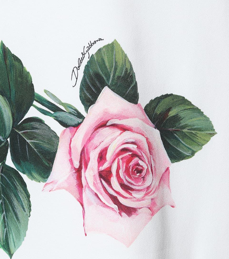 Floral Cady Midi Dress | Dolce & Gabbana - Mytheresa
