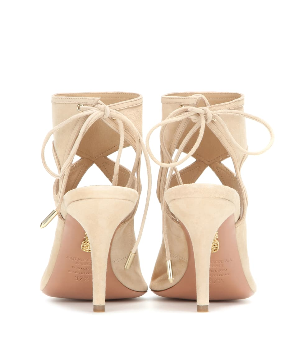 Aquazzura Sandals Sexy Thing From Suede