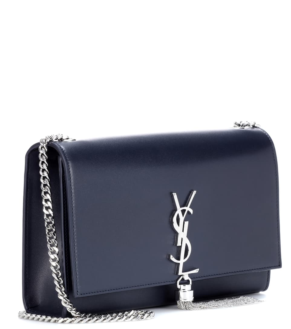 Saint Laurent Schultertasche Classic Medium Kate Monogram aus Leder