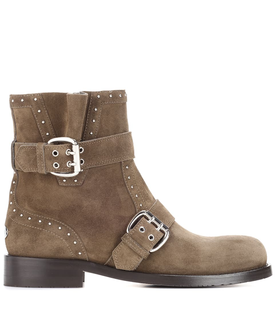 Jimmy Choo Boots Blyss aus Leder