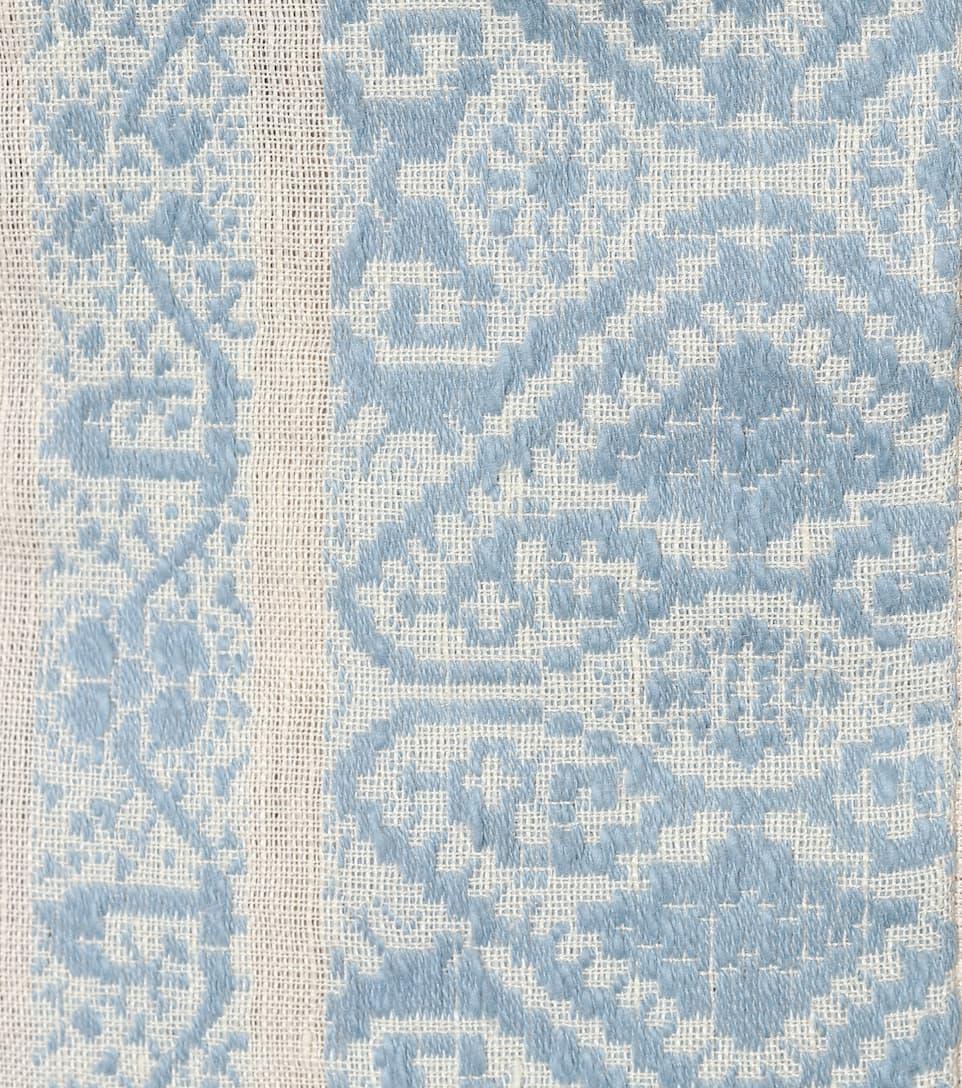 Zimmermann Midikleid aus Baumwolle und Leinen