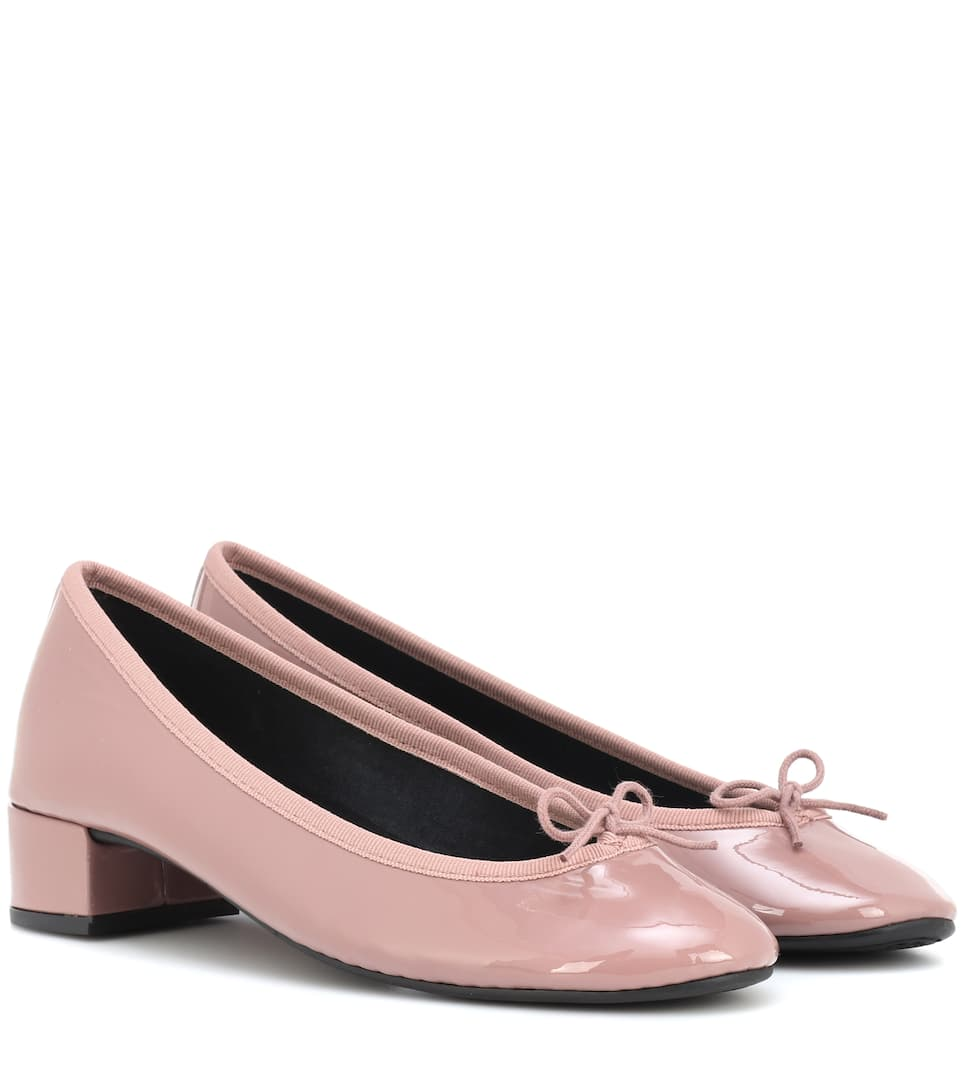 Lou Patent Leather Pumps by Repetto