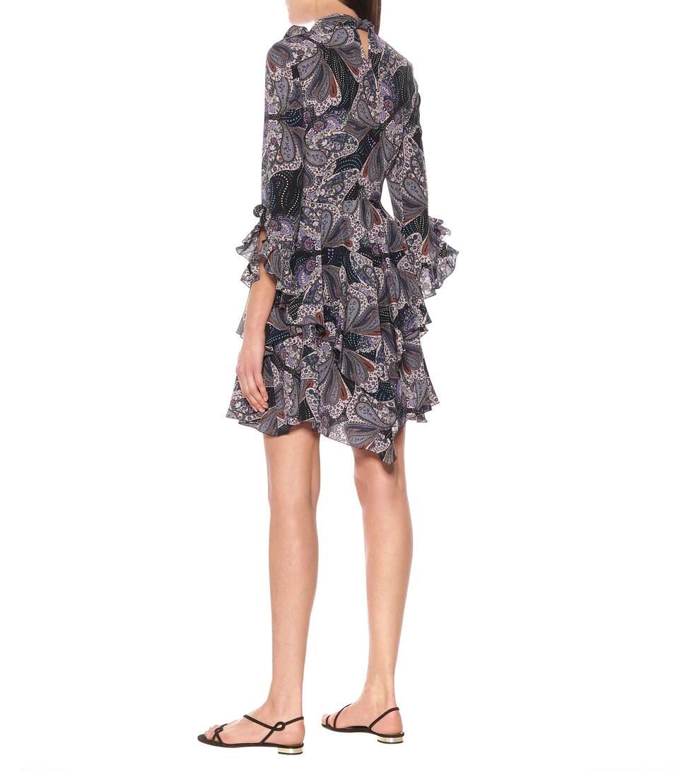 Etro - Paisley silk dress
