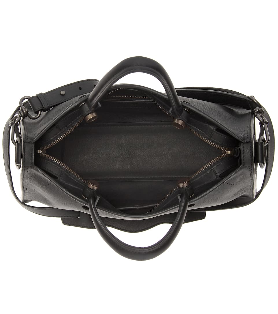 Balenciaga Ledertasche Blackout City Small