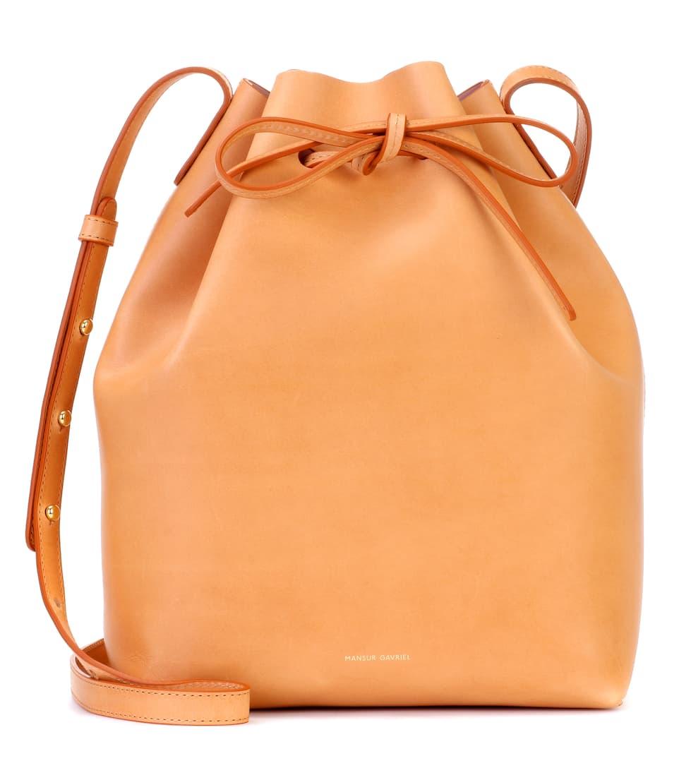 505aa68261d2 Bucket Leather Crossbody Bag