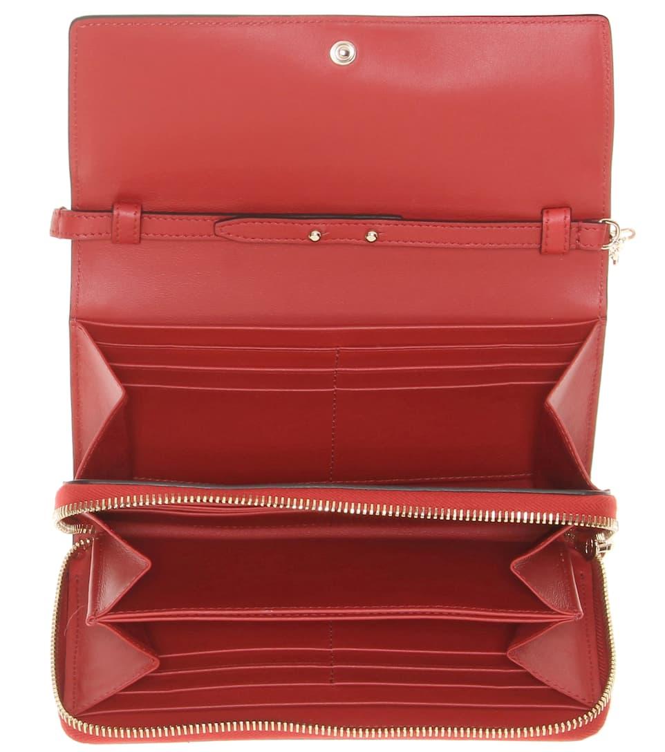 Valentino Valentino Garavani Portemonnaie Carry Secrets aus Leder
