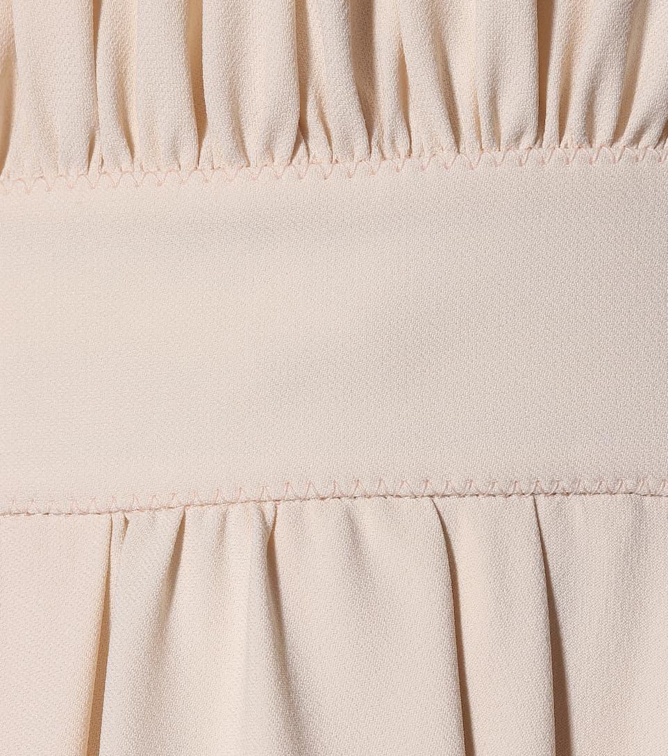 Chloé Asymmetrisches Kleid aus Cady