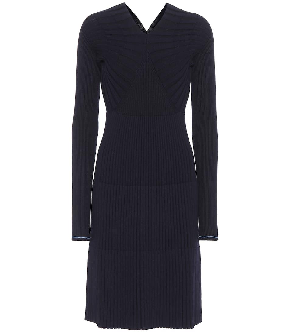 de vestido Oxford azul suéter Beckham Victoria de de mezcla lana 8YP5czAR1
