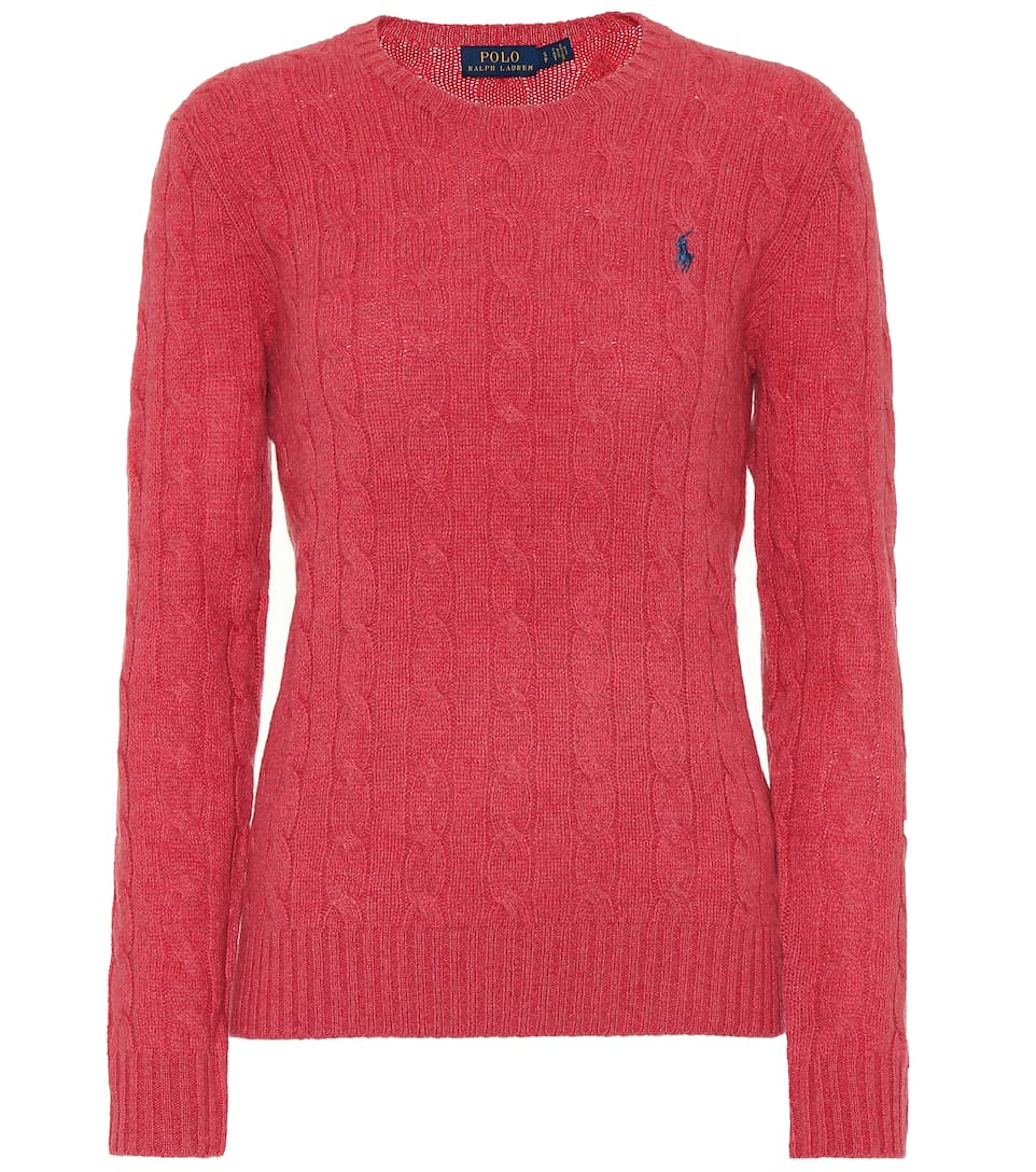 Polo Ralph Lauren Wool and cashmere sweater Red Slate Heather Classic For Sale uSXCv7Ul7H