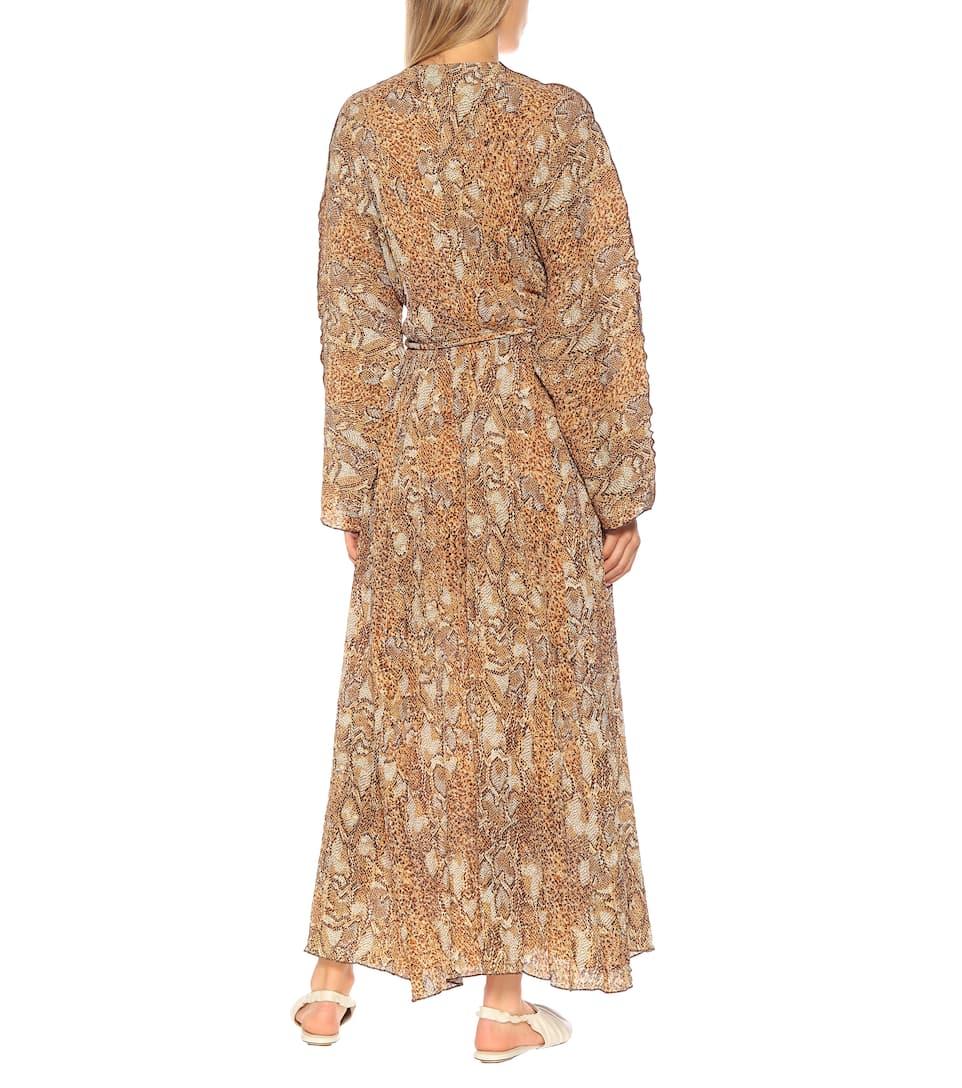 Chul Longue Imprimée Longue Chul Robe Nanushka Longue Chul Robe Robe Imprimée Nanushka Nanushka 9EDHIW2Y