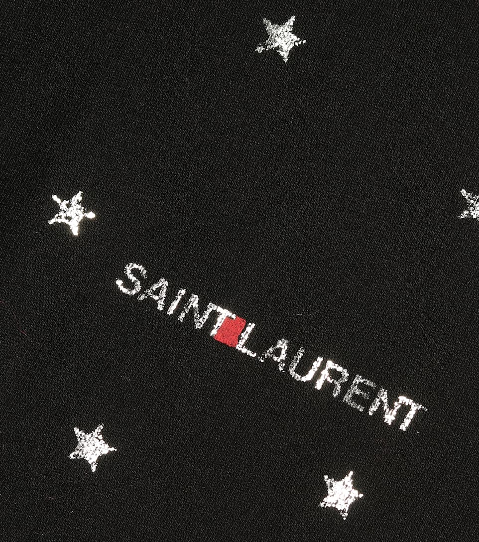 Logo Cotton T-Shirt - Saint Laurent