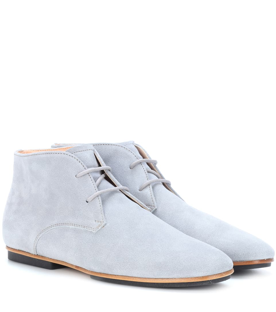 Suede Oxford shoes Tod's LKwa7ZlNc
