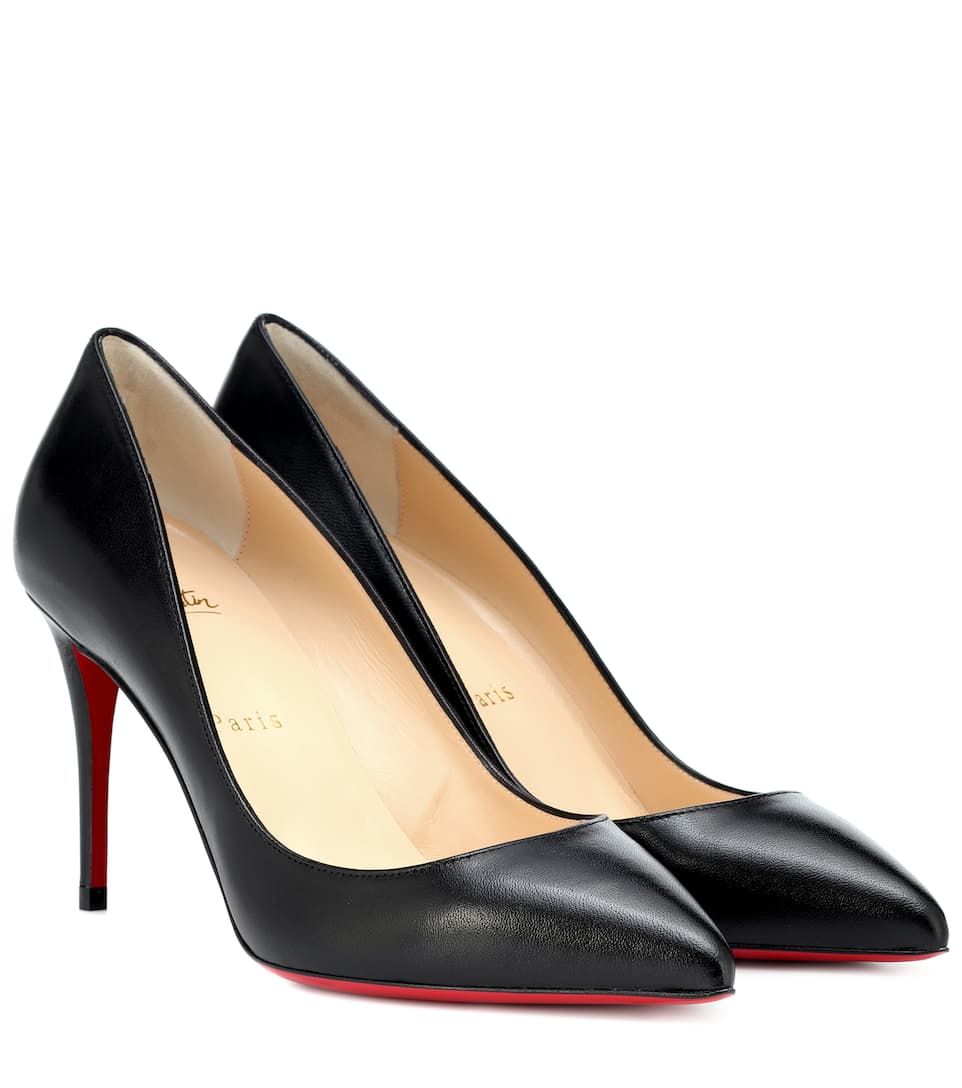 c9a5aebd74b0 Pigalle Follies 85 Leather Pumps - Christian Louboutin