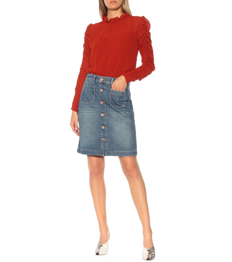 Moncler Jeans Rock Mädchen