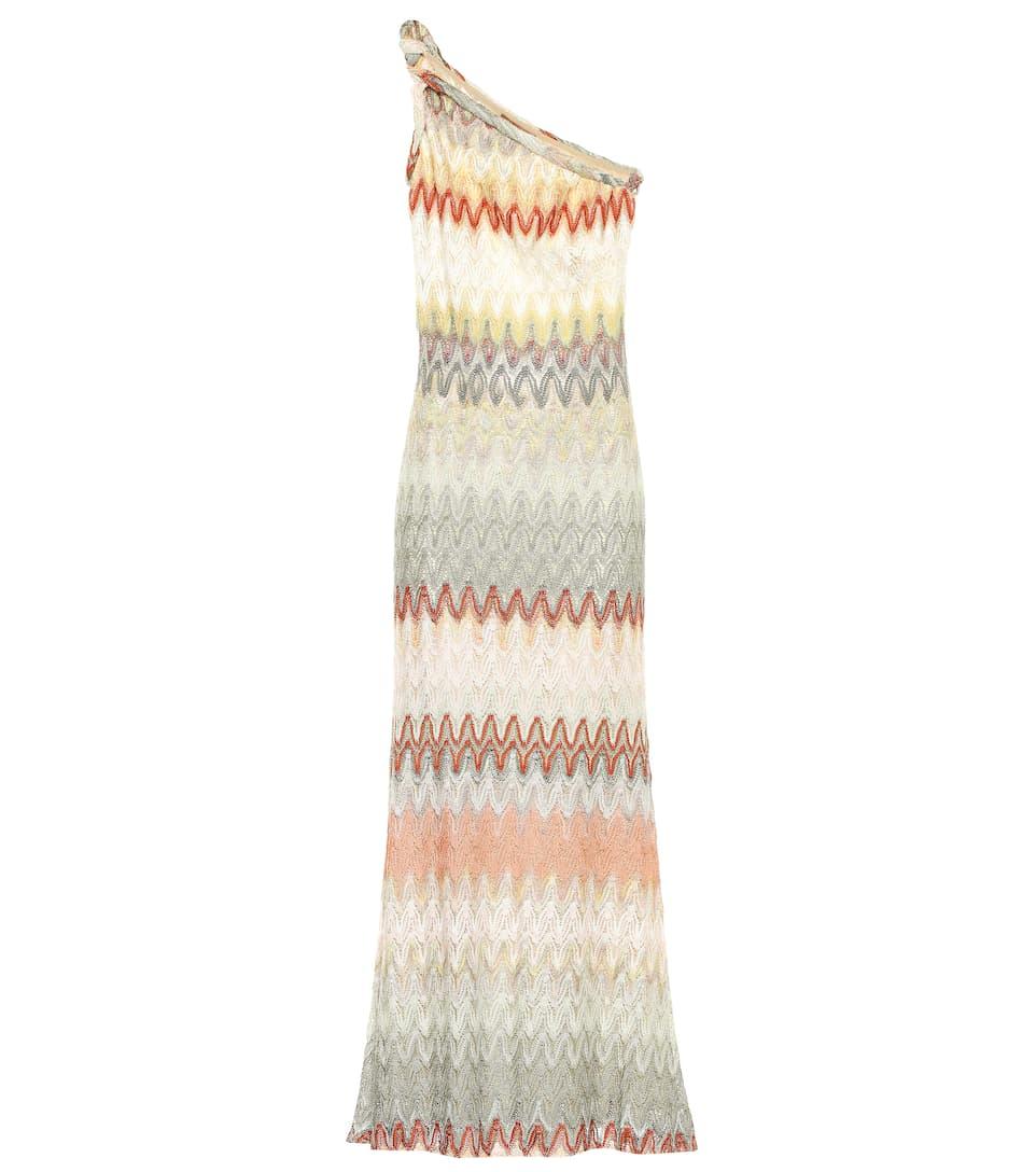 df7789350 One-Shoulder Knitted Maxi Dress | Missoni - Mytheresa